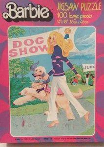 1980 barbie puzzle